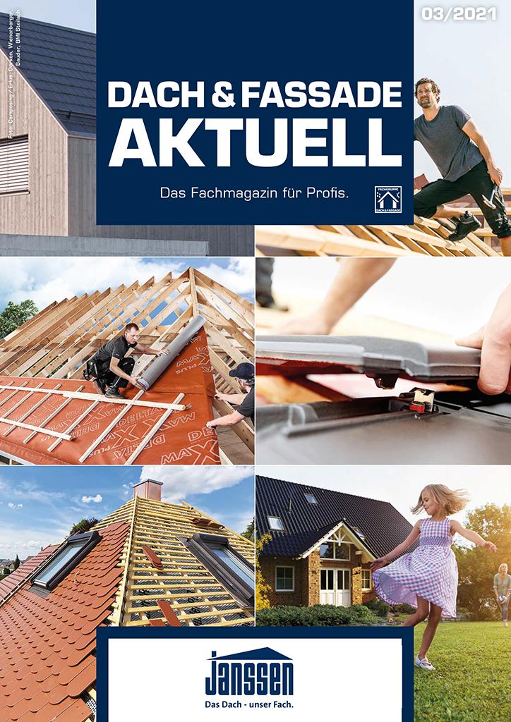 Januar 2021 Dach & Fassade Aktuell Ausgabe